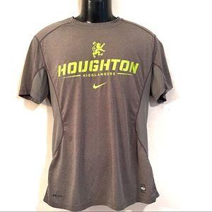 Nike Pro Combat Dri Fit  Houghton Highlander Top-L